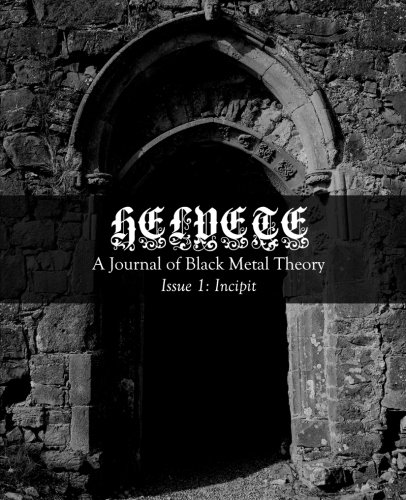 9780615758282: Helvete: A Journal of Black Metal Theory: Issue 1