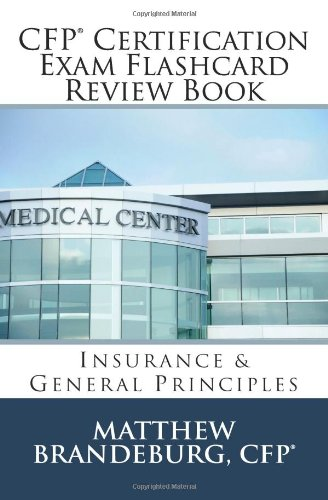 9780615767840: CFP Certification Exam Flashcard Review Book: Insurance & General Principles (2nd Edition)
