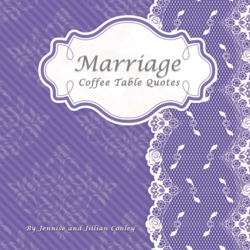 9780615771427: Marriage Coffee Table Quotes