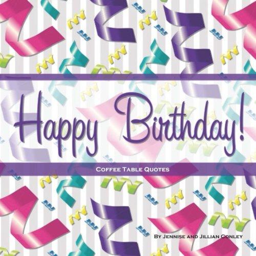 9780615772530: Happy Birthday! Coffee Table Quotes