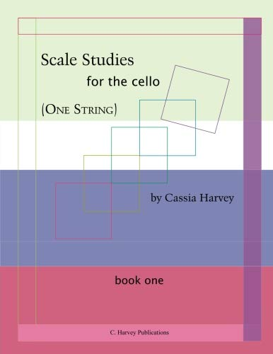 9780615773278: Scale Studies (One String) for the Cello, Book One