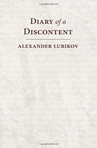 Diary of a Discontent: Lurikov, Alexander