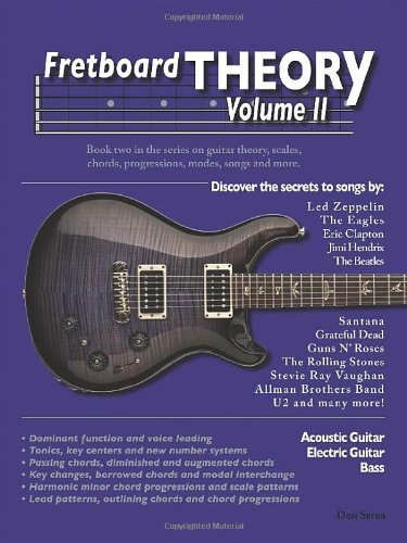 9780615818979: Fretboard Theory Volume II Guitar Scales, Chords, Progressions, Modes, and More (Fretboard Theory)
