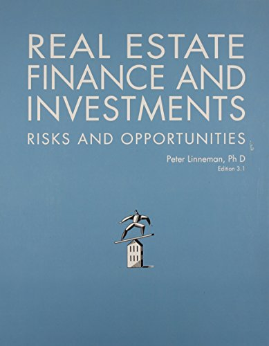 9780615825670: Real Estate Finance and Investments: Risks and Opportunites