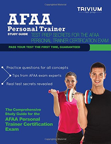 9780615832869: AFAA Personal Trainer Study Guide: Test Prep Secrets for the AFAA Personal Trainer Certification Exam