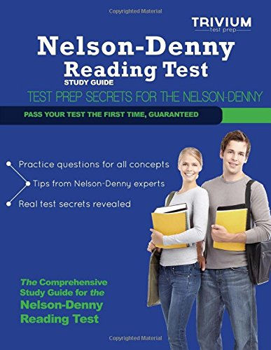 9780615832906: Nelson Denny Reading Test Study Guide: Secrets to Outsmart the Exam