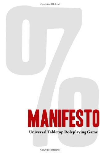 9780615850252: Manifesto: Universal Tabletop Roleplaying Game