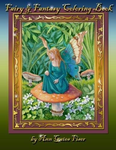9780615866499: Fairy & Fantasy Coloring Book (Volume 1)