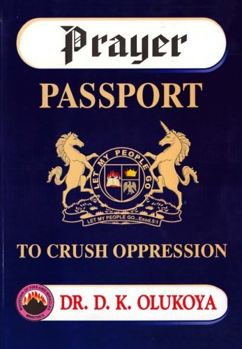 9780615920733: Prayer Passport to Crush Oppression