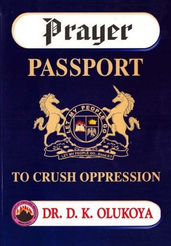 9780615920733: Prayer Passport to Crush Oppression