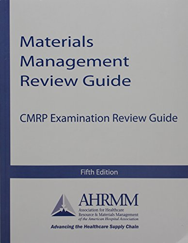 9780615920870: Materials Management Review Guide