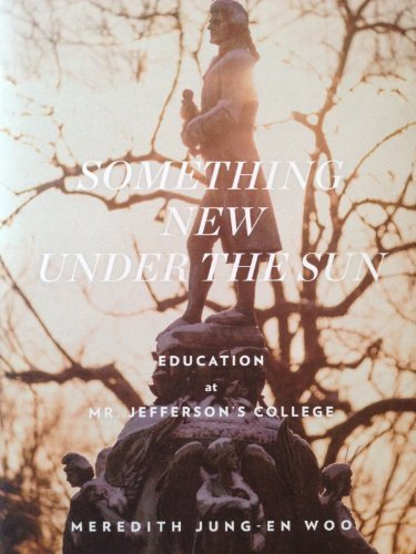 Something New Under the Sun: Meredith Jung-En Woo