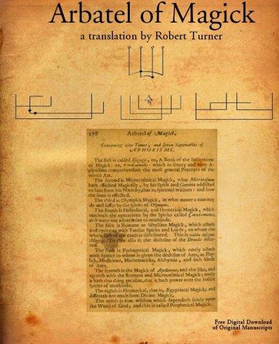 Arbatel of Magick: Or the Spiritual Wisdom: Robert Turner