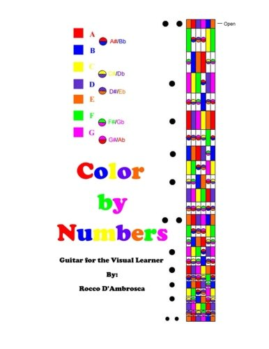 9780615993843: Color By Numbers: Guitar for the Visual Learner