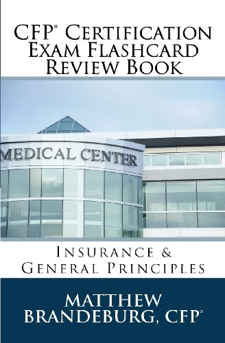 9780615996868: CFP Certification Exam Flashcard Review Book: Insurance & General Principles (3rd Edition)