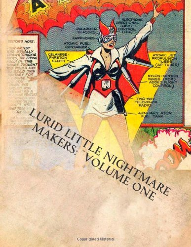 9780616006092: Lurid Little Nightmare Makers: Volume One: Comics from the Golden Age