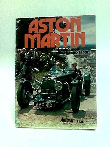 9780617001775: Aston Martin: Britain's Most Colourful Sports Car (An 'Autocar' special)