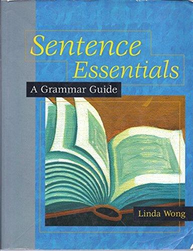 9780618000364: Sentence Essentials: A Grammar Guide
