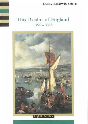 9780618001026: This Realm of England: v. 2 (History of England (Houghton Mifflin Company : Eighth Edition), 2.)