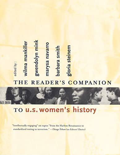 9780618001828: The Reader's Companion to U.S. Women's History