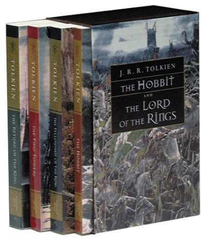 9780618002252: The Hobbit and the Lord of the Rings: Boxed Set