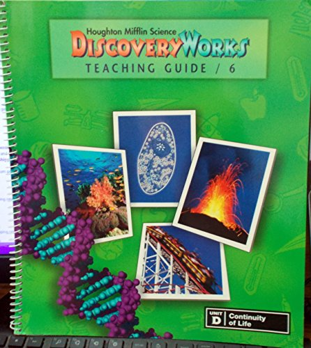 9780618003129: Houghton Mifflin Science Discovery Works (Grade 6, Unit D: Continuity of Life)