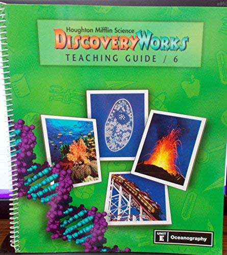 9780618003136: Houghton Mifflin Science Discovery Works (Grade 6, Unit E: Oceanography)
