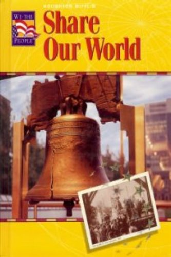 9780618004119: Houghton Mifflin We The People: Student Edition Level 3 -03Imp 2000