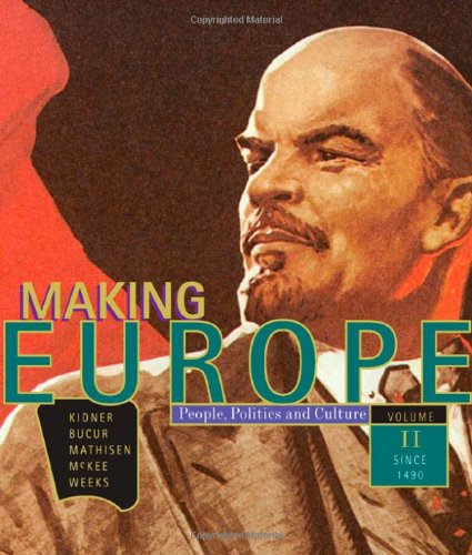 9780618004812: Making Europe: People, Politics, and Culture, Volume 2: Since 1550 (v. 2)