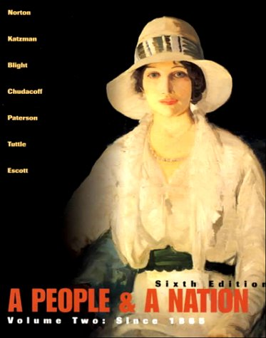 9780618005529: A People and a Nation: A History of the United States (Volume II, Since 1865)