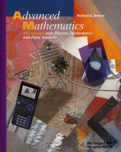 9780618007295: Advanced Mathematics: Precalculus With Discrete Mathematics and Data Analysis