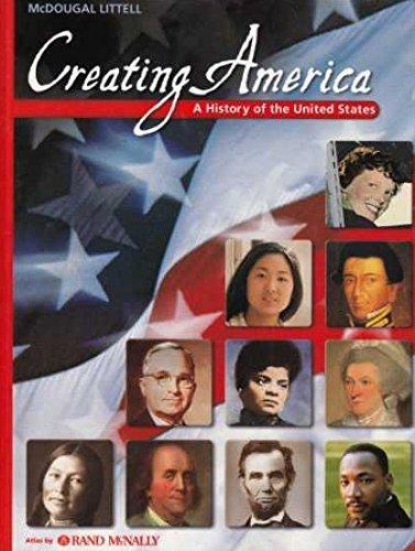 9780618007677: Creating America: A History of the United States, Beginnings Through World War I (McDougal Littell Creating America)