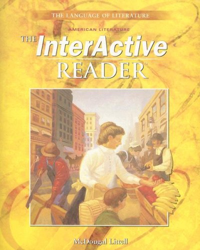 9780618007929: McDougal Littell Language of Literature: The InterActive Reader Grade 11