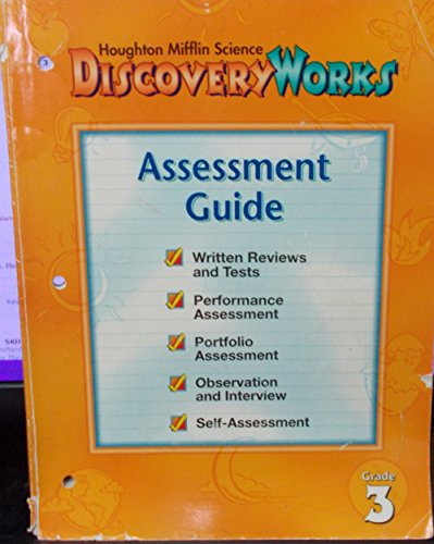 9780618008872: Houghton Mifflin Science Discovery Works Assessment Guide Grade 3