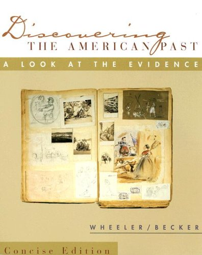 9780618011582: Discovering the American Past, Brief Edition