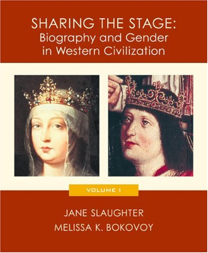 9780618011773: Sharing the Stage: Biography and Gender in Western Civilization, Volume I