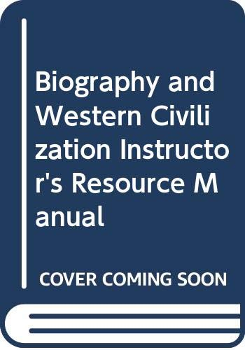 Biography and Western Civilization Instructor's Resource Manual: Slaughter