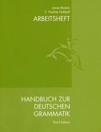 9780618013456: Hand Zur Deutsch Gram Wb/Lm
