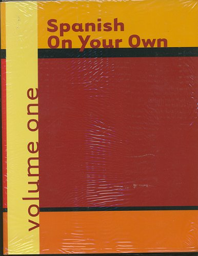 9780618014828: Spanish On Your Own, Volume 1 And Cassette, Volume 1