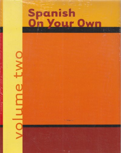 9780618014835: Spanish On Your Own, Volume 2 And Cassette, Volume 2