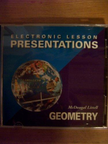 McDougal Littell High School Math: Electronic Lesson Presentations CD-ROM Geometry: LITTEL, ...
