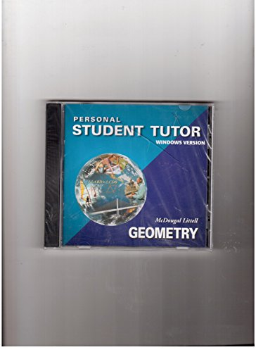 9780618019762: McDougal Littell High School Math: Personal Student Tutor CD-ROM Geometry