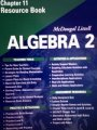 9780618020195: McDougal Littell Algebra 2: Resource Book: Chapter 11