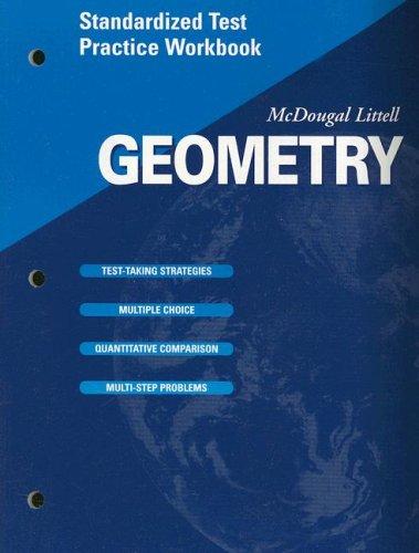 9780618020867: McDougal Littell High Geometry: Standardized Test Practice Workbook SE
