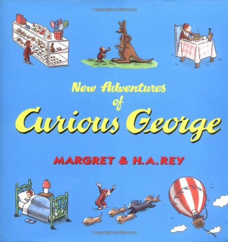9780618022519: New Adventures of Curious George