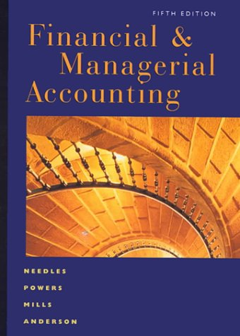 9780618022748: Financial and Managerial Accounting