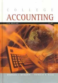 9780618022793: College Accounting, Seventh Edition