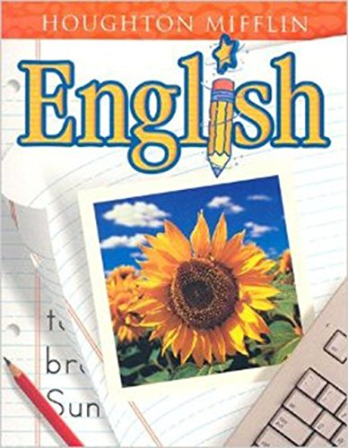 9780618030774: Houghton Mifflin English: Student Edition Softcover Level 2 2001