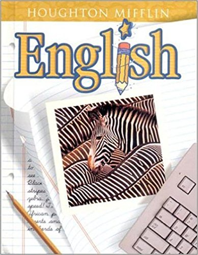 9780618030828: Houghton Mifflin English: Student Edition Hardcover Level 5 2001