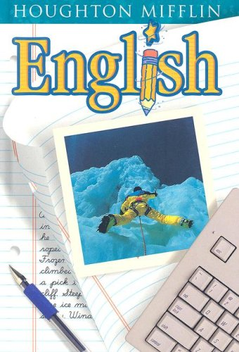 9780618030859: Houghton Mifflin English: Student Edition Hardcover Level 8 2001